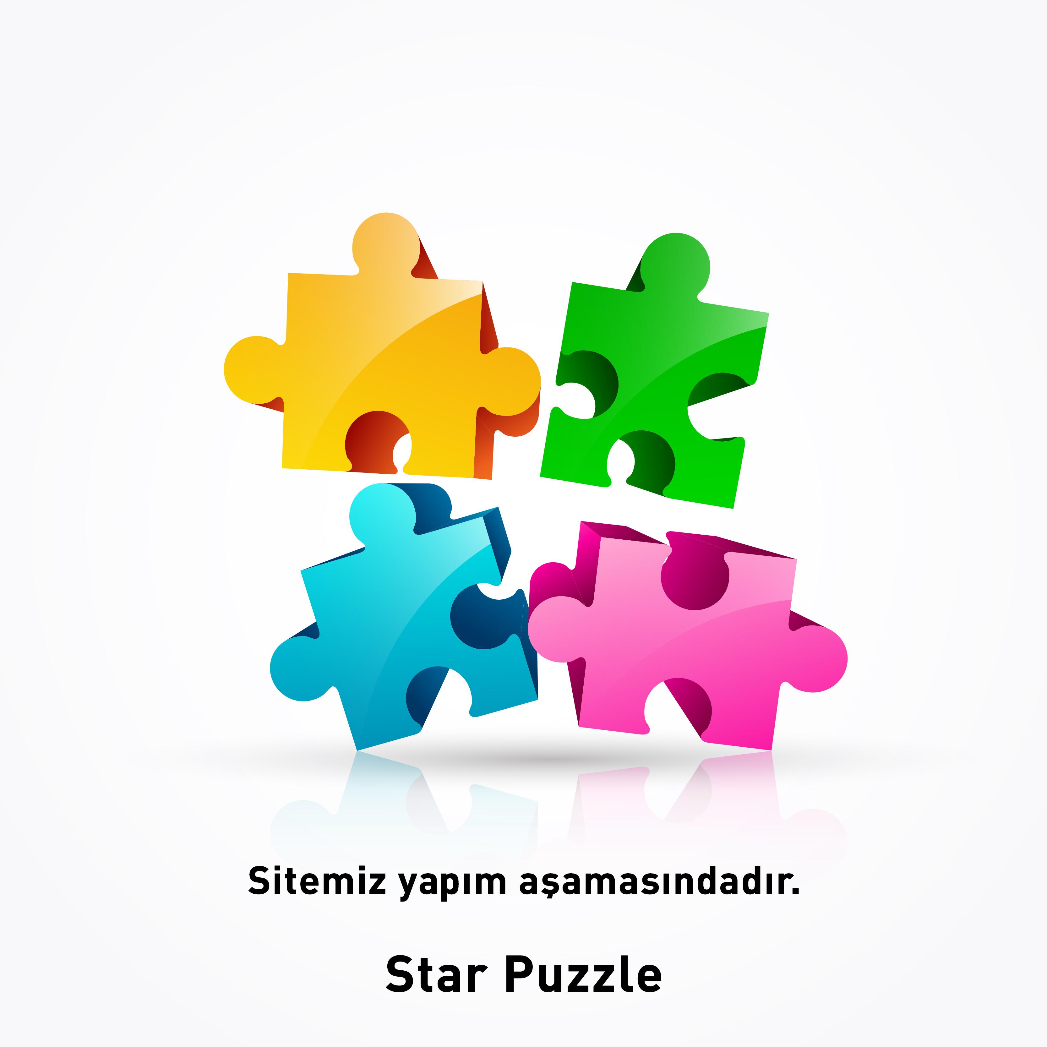 200 parça yeni puzzle